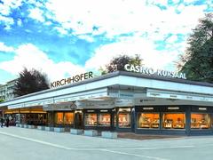 【キルヒホーファー・カジノ・ギャラリー】店舗はインターラーケンのメインストリート・ヘーエ通りにある