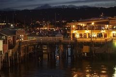 【オールド・フィッシャーマンズ・ワーフ】夜景も美しい桟橋