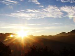 【阿里山(アリサン)】阿里山の日の出