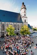 【トーマス教会】多くの人が訪れるトーマス教会