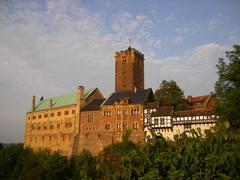 【ヴァルトブルク城】ヴァルトブルク城の全景