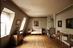 【シラーの家】昔のお部屋をそのまま再現