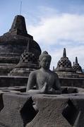【ボロブドゥール遺跡】ストゥーパの中には仏像が設置されている