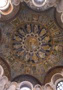 【ネオニアーノ洗礼堂】華やかな天井