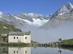 【シュヴァルツ湖】湖畔に佇む「雪のマリア」チャペル
