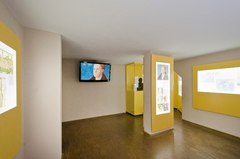 【フッゲライ】ミュージアム内のフッガー家の歴史と情報の展示