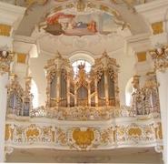 【ヴィース教会】オルガンまでロココ様式で見事