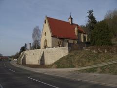 【ヘルゴット教会】小さな丘にあるヘルゴット教会。外観は地味