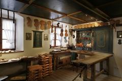 【バイオリン博物館】昔の作業部屋を再現