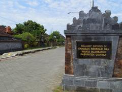【ブラバトゥ村】ブラバトゥ村の入り口