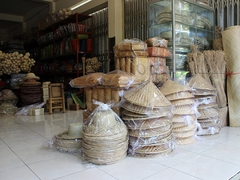 【ボナ村】籠を使った工芸品がいっぱい