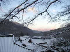 【松広寺】冬の松広寺