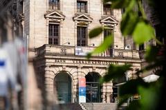 【交通博物館】交通博物館の入り口