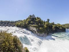 【ラインの滝】ヨーロッパ最大の滝はライン川本流唯一の滝でもある