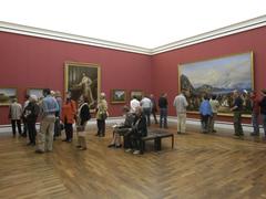 【ノイエ・ピナコテーク】展示室8、ルートビッヒI世肖像画など
