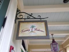 【トミー・バハマ】おしゃれなロゴの看板