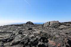 【チェーン・オブ・クレイターズ・ロード】溶岩と太平洋の光景の中を走る