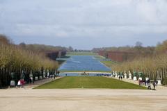 【ヴェルサイユ宮殿庭園】グラン・カナルを望む