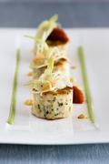【エクイノックス・レストラン】カニ肉のケーキ