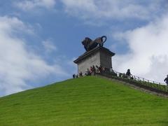 【ライオンの丘】丘の上にあるライオン像
