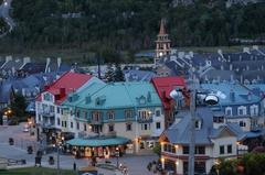 【トランブラン山】麓のビレッジも国内有数のリゾート