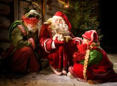 【サンタ・パーク】サンタクロースに出会える