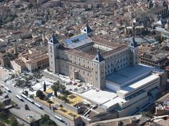 【軍事博物館】トレドの街を見下ろす王城