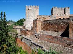 【アルカサバ】9世紀ごろにムーア人によって建設された