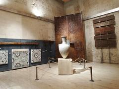 【アルハンブラ美術館】カルロス5世宮殿の2階にある