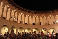 【ベルヴェル城】マヨルカ王の夏の離宮だった (c) Ajuntament de Palma de Mallorca