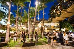 【ロイヤル・ハワイアン・センター】センター内の広場ではさまざまなイベントが開催されている