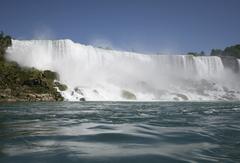 【アメリカ滝】カナダ側から真正面に見える滝