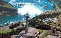 【スカイロン・タワー】滝を見下ろす最高の眺めだ