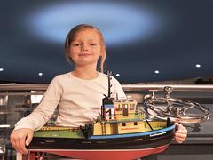 【ノルウェー海洋博物館】子供向けの船の工作イベント