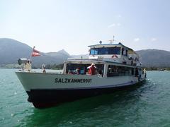 【ヴォルフガング湖】遊覧船で湖クルーズを楽しもう