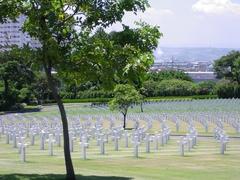 【米軍記念墓地】米軍記念墓地全景