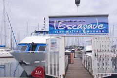 【メートル島】メトル島行きの船