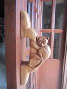 【ボホール国立博物館】ターシャの形をしたユニークなドアノブ