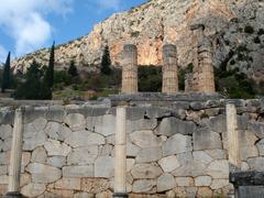 【デルフィの古代遺跡】アポロン神殿跡 2