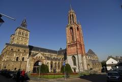 【聖セルファース教会】赤い塔が印象的な教会