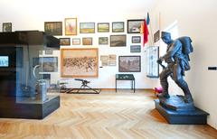 【チロル・パノラマとチロル皇帝猟兵連隊博物館】館内展示の様子