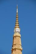 【王宮】59mの尖塔には宇宙創造を司るブラフマー神の顔が