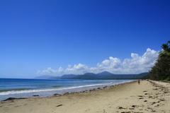 【フォー・マイル・ビーチ】ケアンズ周辺で最も長く美しい海岸と言われる