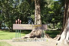 【リリウオカラニ・ガーデン・パーク】大きな公園なので、時間に余裕を持って訪れたい