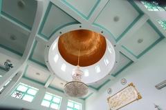 【チョロン・モスク】アラビアンな雰囲気感じる天井
