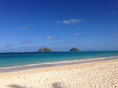 【ラニカイ・ビーチ】モク・イキ、モク・ルアと呼ばれる双子の島がラニカイの象徴