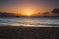 【カアナパリ・ビーチ】美しい西マウイのサンセット