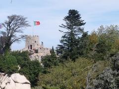 【シントラの文化的景観】ムーアの城跡