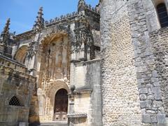 【トマールのキリスト教修道院】マヌエル様式のファサード
