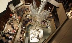 【グレンボウ博物館】内部は4階まであり、それぞれテーマや展示物が異なっている